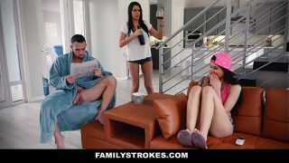 FamilyStrokes – Hot Asian Babe Brenna Sparks Fucked By Her Stepdaddy